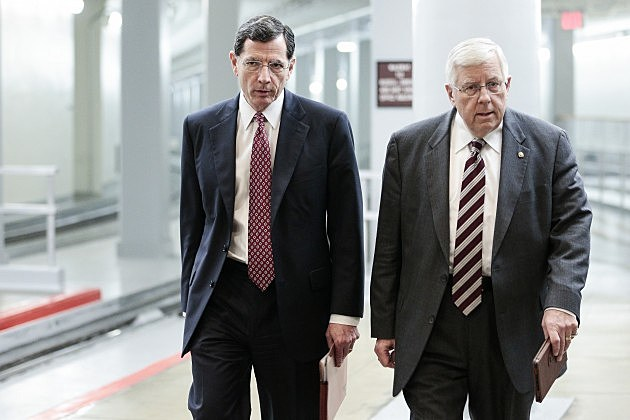 Senator John Barrasso and Senator Mike Enzi