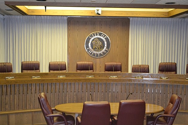 Cheyenne city council chambers