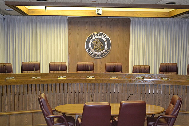 Cheyenne city council chambers