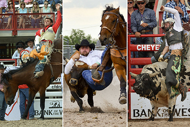 cheyenne frontier days events