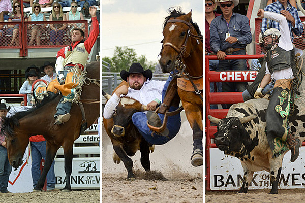 Cheyenne Frontier Days Wins 15th Prca Large Outdoor Rodeo