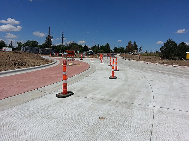 Pershing/Converse/19th street roundabout