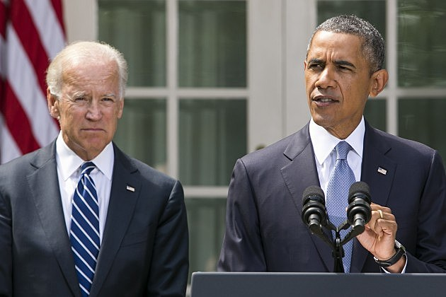 Obama Gives Statement On Syria In Rose Garden