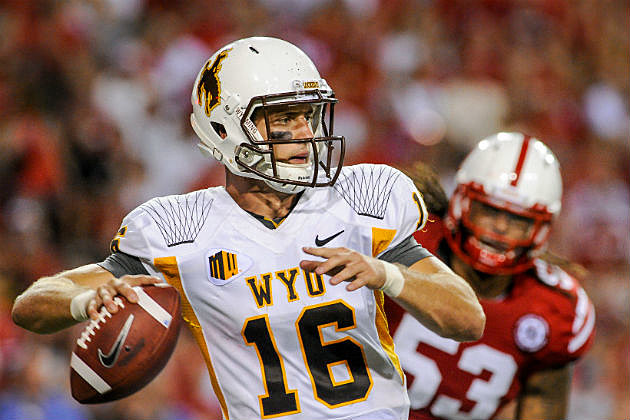 Wyoming QB Brett Smith