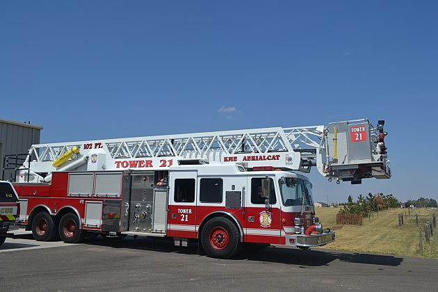 LC Fire District 2 Ladder Truck