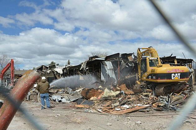 hitching post demolition