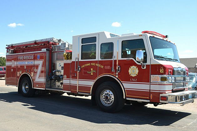 Cheyenne fire truck