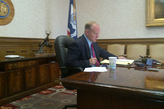 Gov. Mead's Press Conference