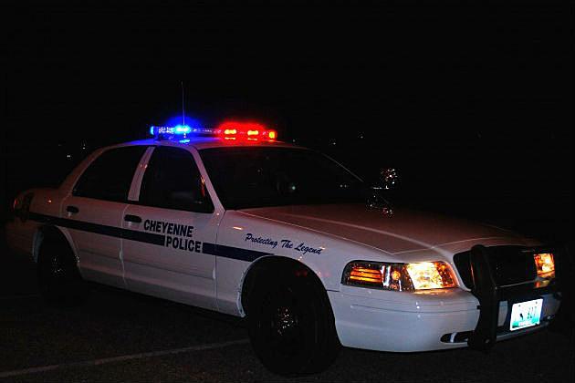 Cheyenne-Police car