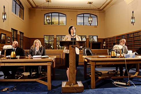 College of Law Students in Court
