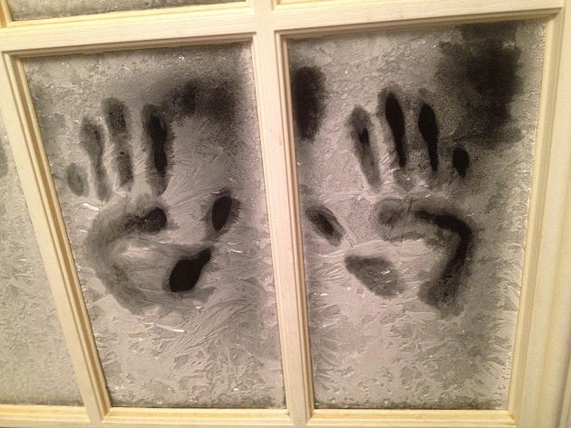 Frozen Handprints MRorabeck Townsquare Media