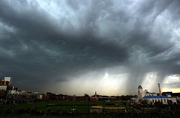 Tornadoes Touch Down in Denver