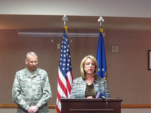 Secretary of the Air Force, Deborah Lee James