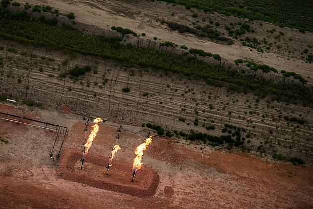 Natural Gas Flaring in Rural North Dakota