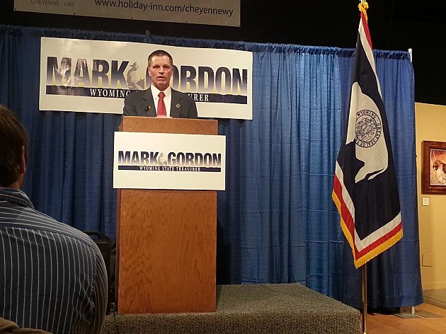 State Treasurer Mark Gordon