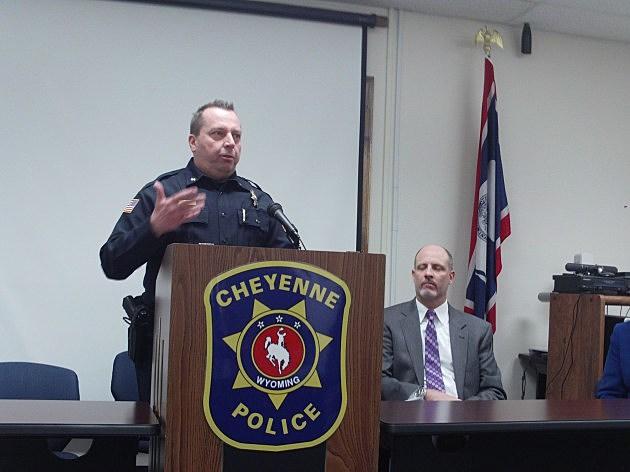 Cheyenne Police Chief Brian Kozak