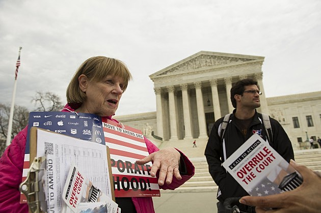 Supreme Court Strikes Down Limit One can Donate To Political Campagnes.