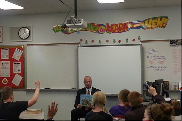 Governor Mead at Freedom Elementary