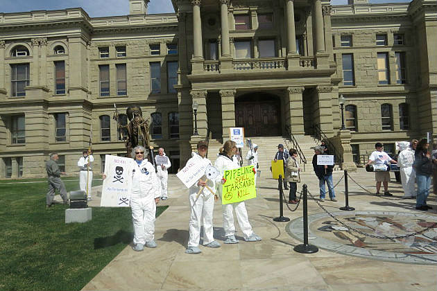 Keystone XL Pipeline Protest at Capitol