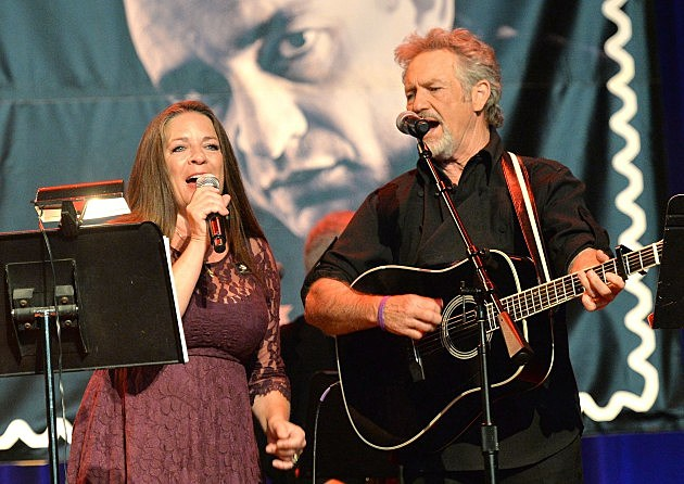 Carlene Carter and Larry Gatlin