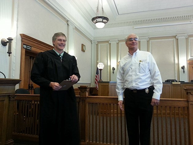Ron Sargent sworn in as Laramie County Coroner