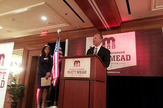 Governor Matt Mead and Carol Mead