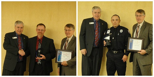 WDOC employee and officer of the year