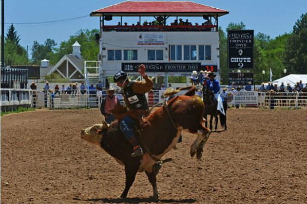 Cheyenne Frontier Days- bull rider
