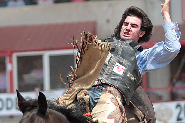Cheyenne Frontier Days 2016 Thursday S Rodeo Results Gallery