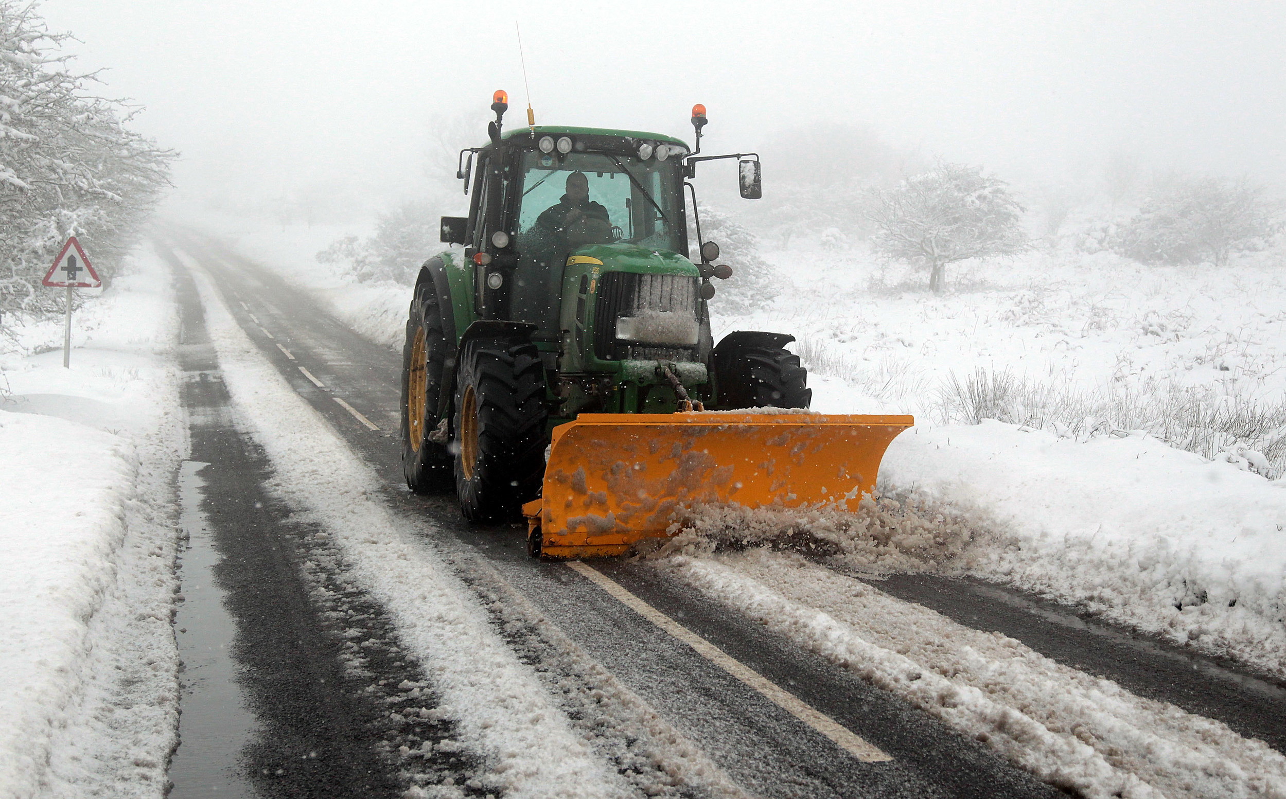 Winter Weather Returns To The UK