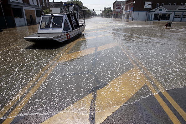 Major Flooding Soaks The Midwest