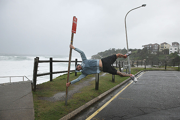 Damaging Winds And Heavy Rain Hit Sydney