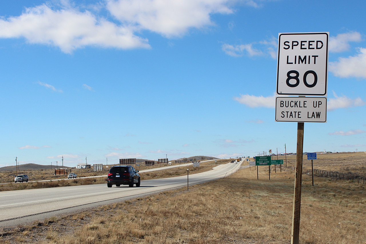 Speed Limit On Part Of Interstate 80 Increased To 80 MPH | KGAB
