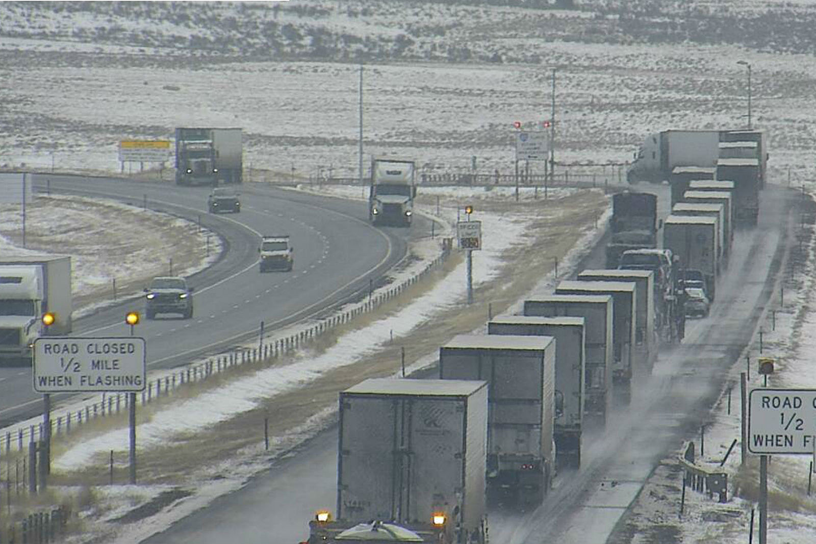 I-80 Closed Eastbound from Laramie to Cheyenne Due to Crash | KGAB